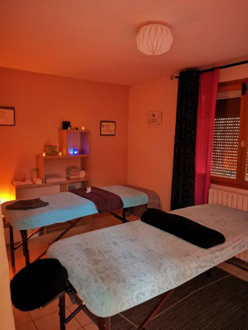 Massage DUO 1h00 ou 1h30 pour 2 personnes sauna en option